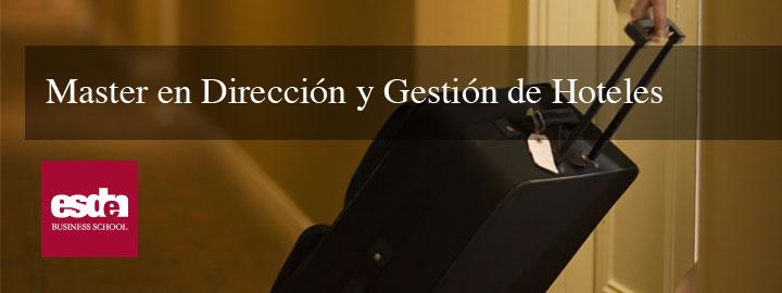 Dirección y Gestión de Hoteles
